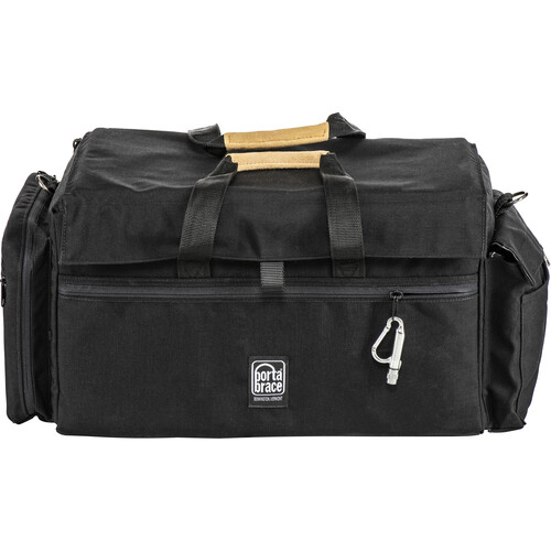 Porta Brace DVO-3R Large Carrying Case for Camcorder with Matte Box and Follow Focus (Black with Copper Trim)