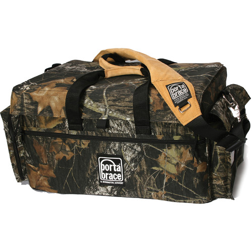 Porta Brace DVO-3U/MO Large Carrying Case for Camcorder with Matte Box and Follow Focus (Mossy Oak Camouflage)