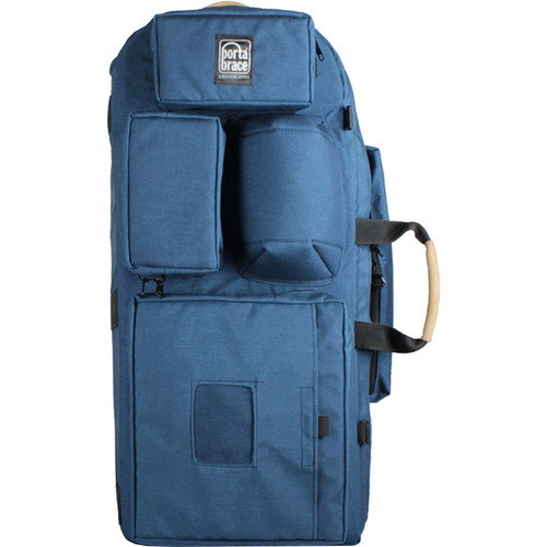 Porta Brace HC-1 Broadcast/DSLR Camera Backpack (Signature Blue)