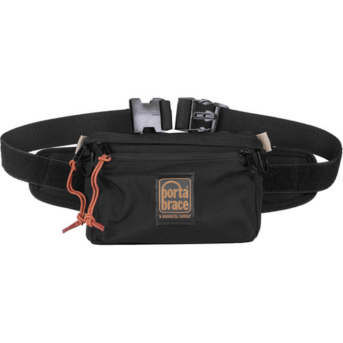 Porta Brace HIP-1 Hip Pack for Small Accessories (Small, Midnight Black)