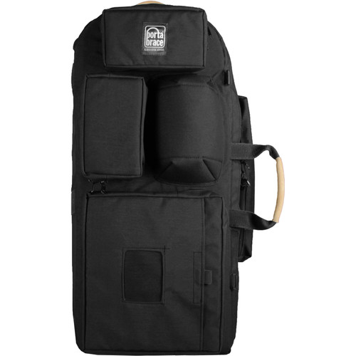 Porta Brace HK-1 Hiker Backpack Camera Case (Black)