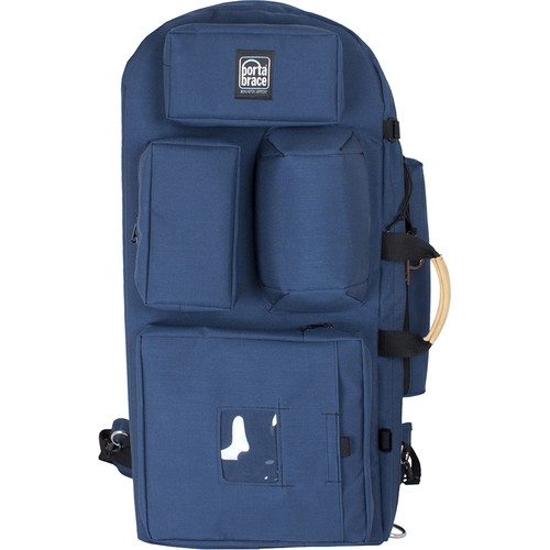 Porta Brace HK-2 Hiker Backpack Camera Case (Blue)