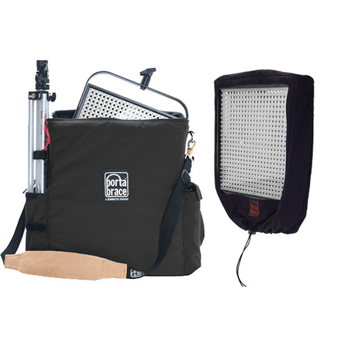 Porta Brace LPB-LP1X1 Carrying Case for 1 Lite Panels 1X1 (Midnight Black)