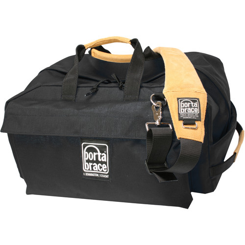 Porta Brace LR-2B Light Run Bag (Midnight Black)