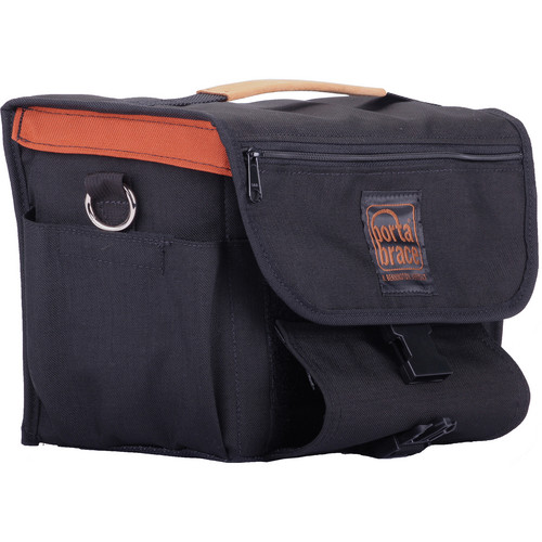 Porta Brace MS-DSLR1 Messenger Bag (Small, Black)