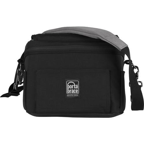 Porta Brace MS-DSLR2 Messenger Camera Bag (Large, Black)