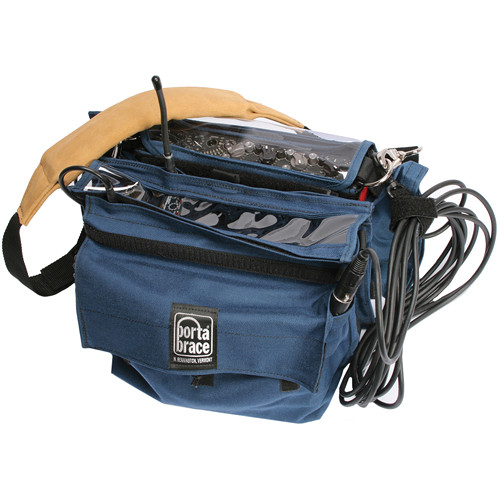 Porta Brace MXC-552R1 Audio Combination Case with RM-ER1 Mic Transmitter Case