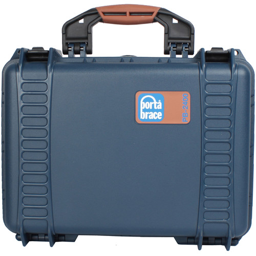 Porta Brace PB-2400E Hard Case, Empty Shell (Blue)