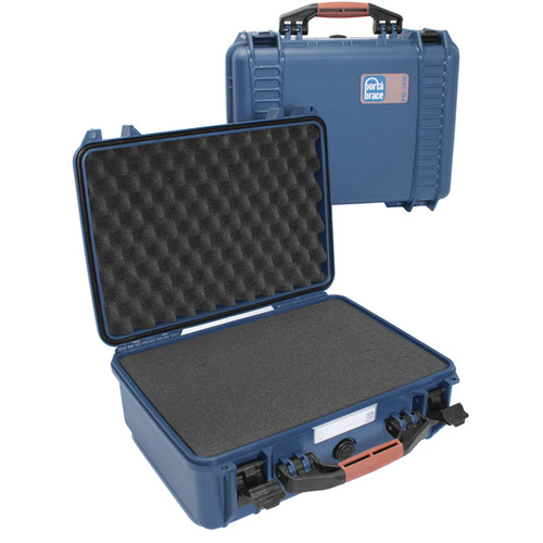 Porta Brace PB-2400F Hard Case with Foam Interior (Blue)
