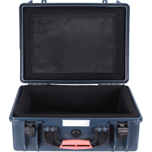 Porta Brace PB-2500DK Hard Case with Divider Kit Interior (Blue)