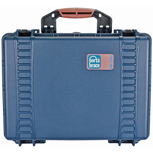 Porta Brace PB-2500E Hard Case, Empty Shell (Blue)
