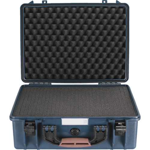 Porta Brace PB-2500F Hard Case with Foam Interior (Blue)