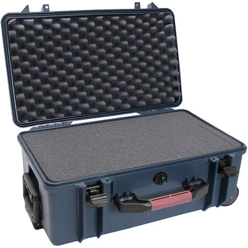 Porta Brace PB-2550F Hard Case with Foam Interior (Blue)