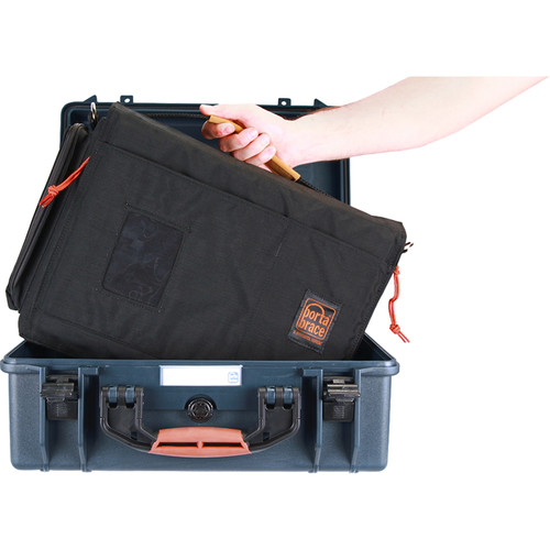 Porta Brace PB-2550IC Hard Case with Soft Case Interior (Blue)
