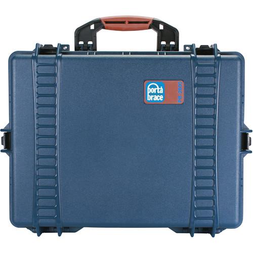Porta Brace PB-2600DK Hard Case with Divider Kit Interior (Blue)