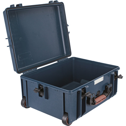 Porta Brace PB-2650E Wheeled Hard Case, Empty Shell (Blue)