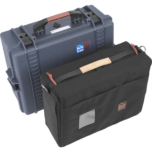 Porta Brace PB-2650IC Hard Case with Soft Case Interior (Blue)