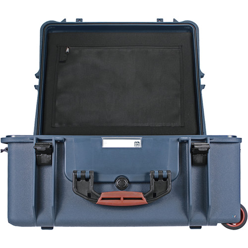 Porta Brace PB-2750DK Hard Case with Divider Kit Interior (Blue)