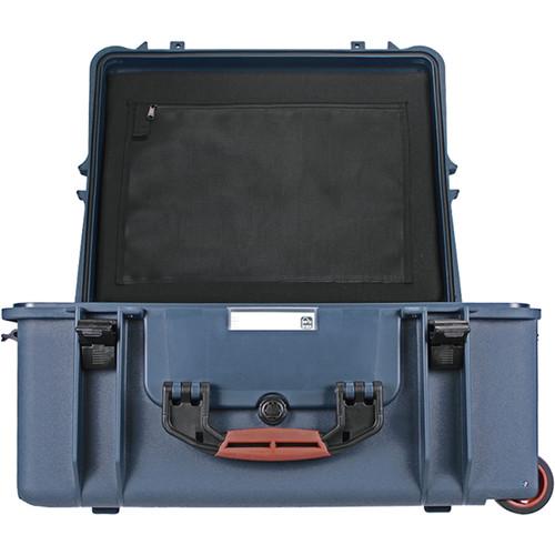 Porta Brace PB-2750DK Hard Case with Divider Kit Interior (Blue)
