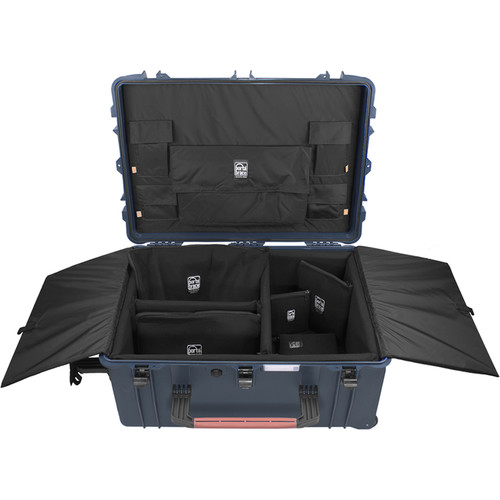Porta Brace PB-2780DK Hard Case with Divider Kit Interior (Blue)