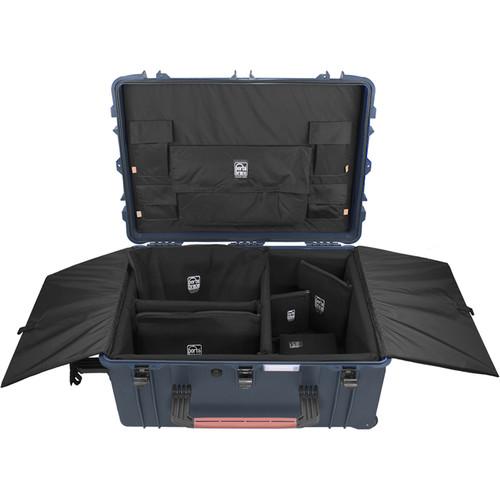 Porta Brace PB-2780DK Hard Case with Divider Kit Interior (Blue)
