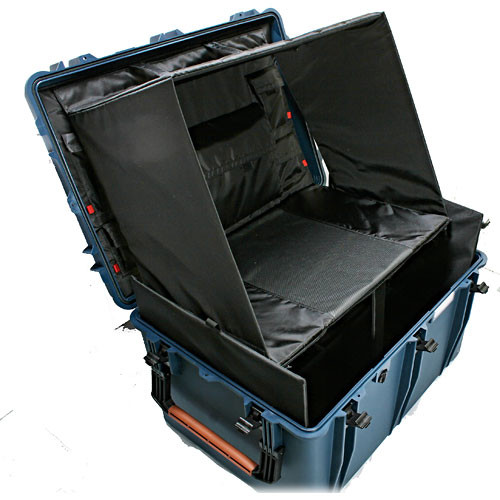Porta Brace PB-2850TBH Truck Style Hard Case Mobile Workstation (Blue)