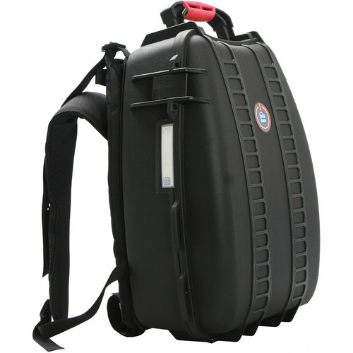 Porta Brace PB-3500DK Hard Case Backpack with Divider Kit Interior (Black)