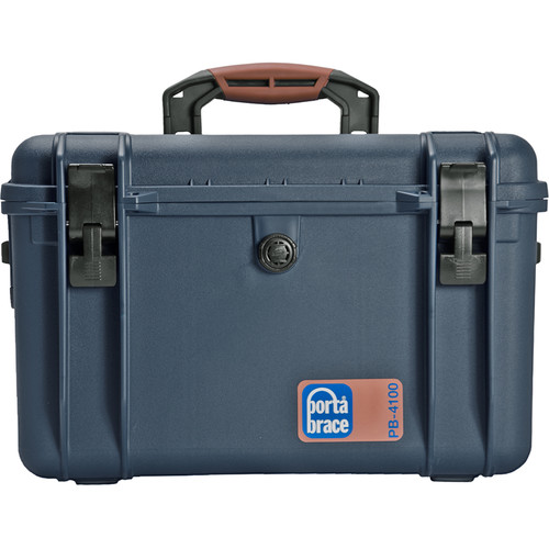 Porta Brace PB-4100E Hard Case, Empty Shell (Blue)