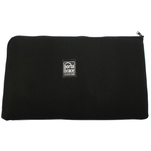 Porta Brace PB-B1221 Zippered Padded Pouch (Black)