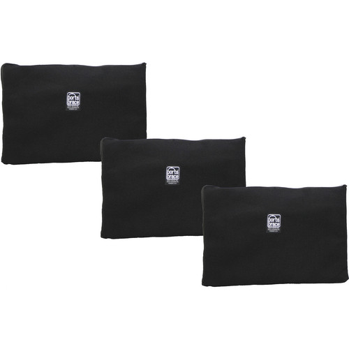 Porta Brace Zippered Padded Pouches (Set of 3)