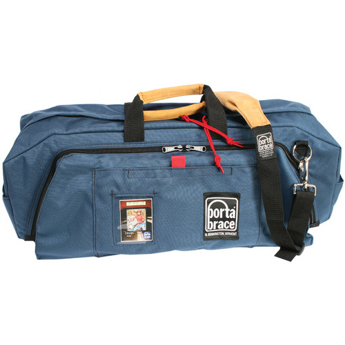 Porta Brace RB-3 Lightweight Run Bag for A/V Production Accessories (Large, Blue)