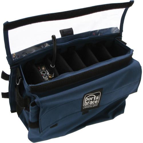 Porta Brace RM-MULTI/EB Extreme Wireless Mic Case (Blue)