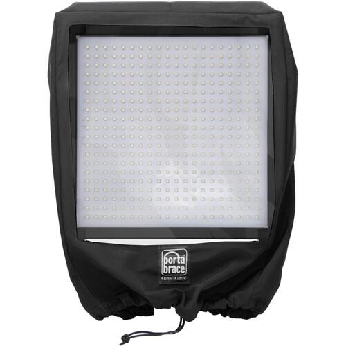 PortaBrace RT-LED1X1 Lite Panel Rain Cover (Black)
