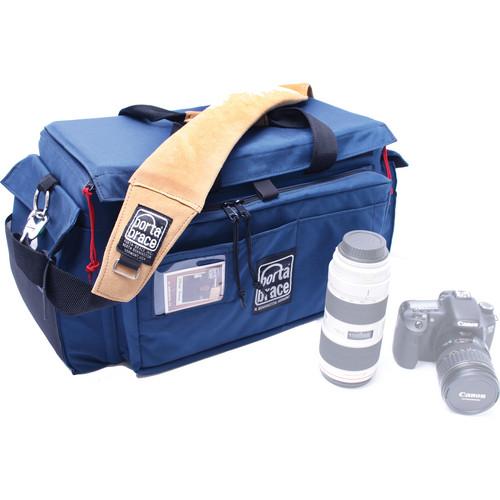 Porta Brace SLR-3 D-SLR Carrying Case (Blue)