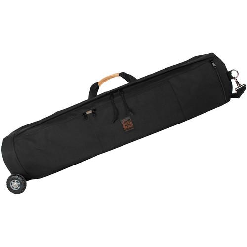 Porta Brace TSB-38BOR Tripod Shellpack with Wheels (Midnight Black)