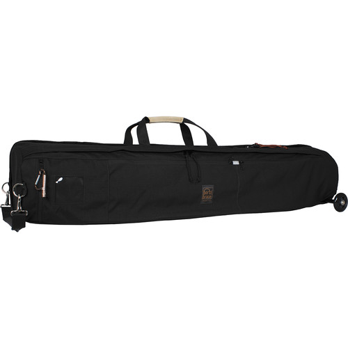 Porta Brace TS-46BOR Tripod Shellpack Case with Wheels (Black)