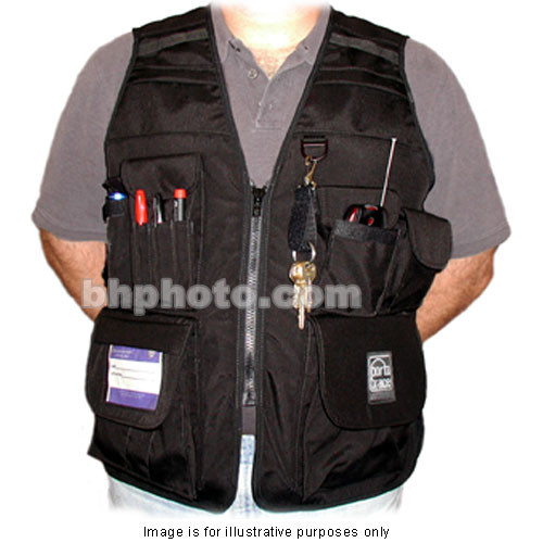 PortaBrace VV-M Videographer Vest (Large, Black)