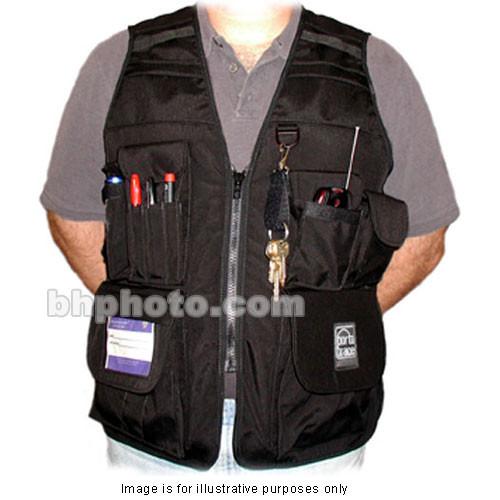 Porta Brace VV-M Videographer Vest (Extra Extra Large, Black)
