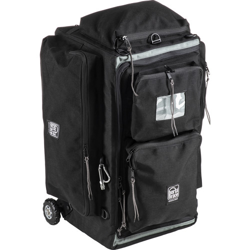 Porta Brace WPC-2OR Wheeled Production Case (Medium, Midnight Black)