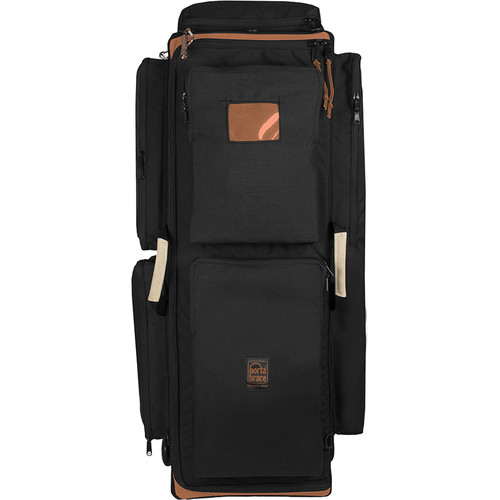 Porta Brace WPC-3OR Wheeled Production Case (Large, Midnight Black)