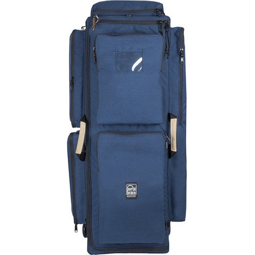 Porta Brace WPC-3OR Wheeled Production Case (Large, Signature Blue)