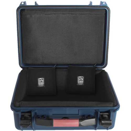 Porta Brace PB-2400DK Superlite Hard Case with Divider Kit (Blue)