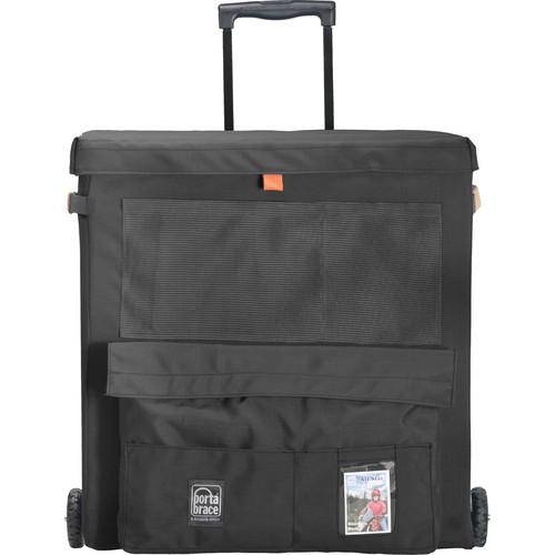 PortaBrace WBU-1ORB Wheeled Bucket Case (Black)