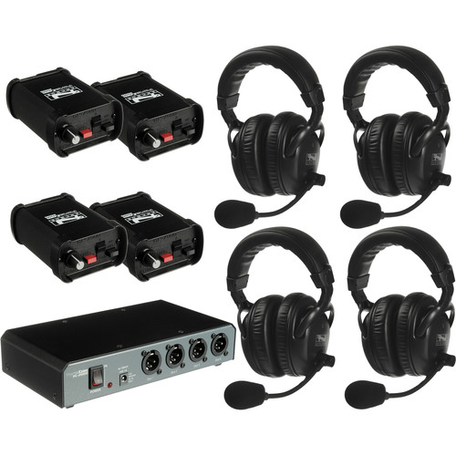 PortaCom COM-40FC 4 Headset Intercom System