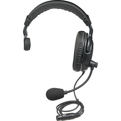 PortaCom H2000S - Single-Sided Headset for Intercoms
