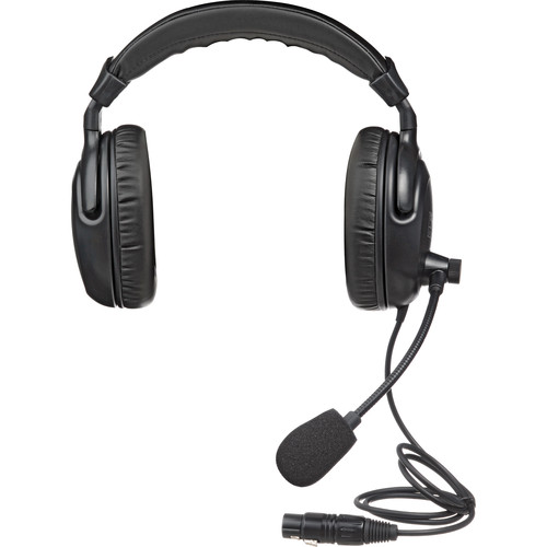 PortaCom H200 Dual-Earpiece Headset