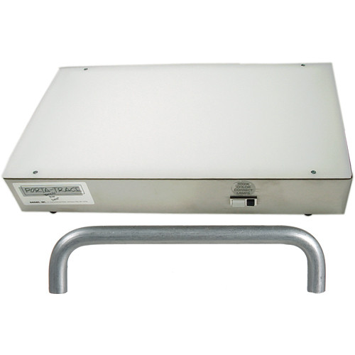 """Porta-Trace / Gagne 11x18"""" Stainless Steel Light Box with Handle Kit (2- 5,000K Lamps)"""