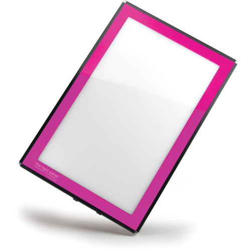 "Porta-Trace / Gagne 18 x 24"" LED Light Panel (100/240 VAC, 50/60 Hz, Pink)"