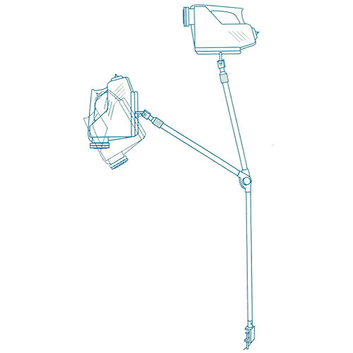 "Porta-Trace / Gagne Adjustable Tabletop Arm for ""The Projector"" (Opaque)"
