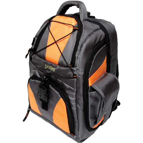 Portare Bags Multi Use Backpack (Gray/Orange)